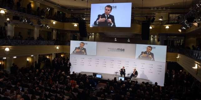 A Munich, Macron exhorte les Allemands à être «plus ambitieux» pour relancer «l'aventure européenne»