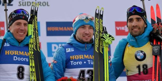 Mondiaux de biathlon: Fillon Maillet en argent au sprint, Fourcade en bronze, Alexandr Loginov vainqueur