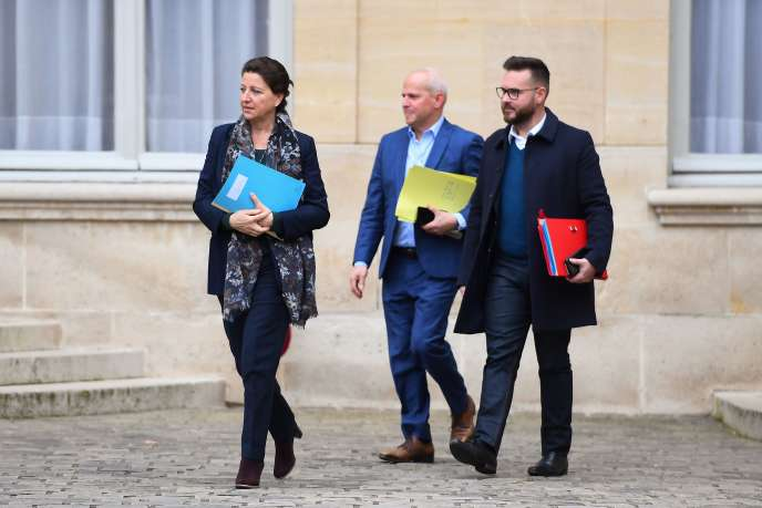 La ministre de la santé Agnès Buzyn, après une réunion sur la situation liée aucoronavirus, le 8 février à Paris.