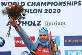 Biathlon: le Français Emilien Jacquelin sacré champion du monde de la poursuite