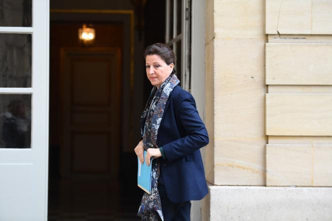 La ministre de la santé, Agnès Buzyn, à Matignon le 8 février.