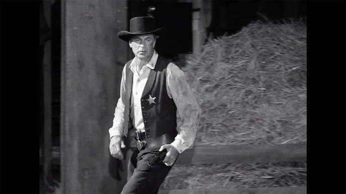 Gary Cooper, shérif solitaire dans «Le Train sifflera trois fois».