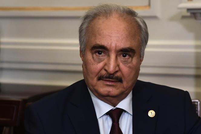 Le maréchal Khalifa Haftar, le 17 janvier à Athènes.