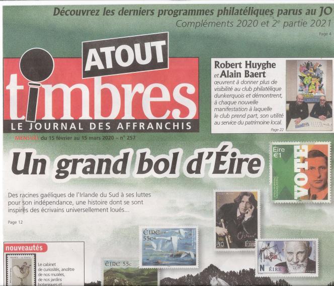 « Atout timbres », 32 pages, 2,20 euros.