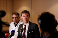 Le ministre de la santé, Olivier Véran, le 18 février.
