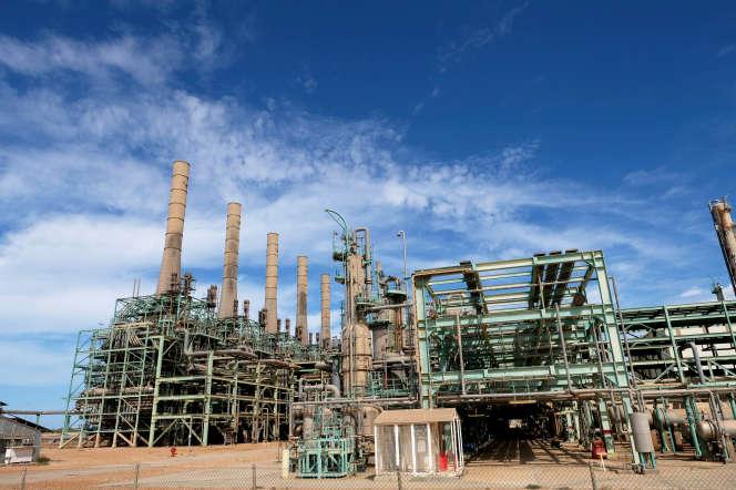 La raffinerie de Ras Lanouf, en Libye, en octobre 2019.