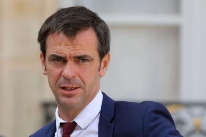 Olivier Véran, le 18 septembre 2018 à L'Elysée.