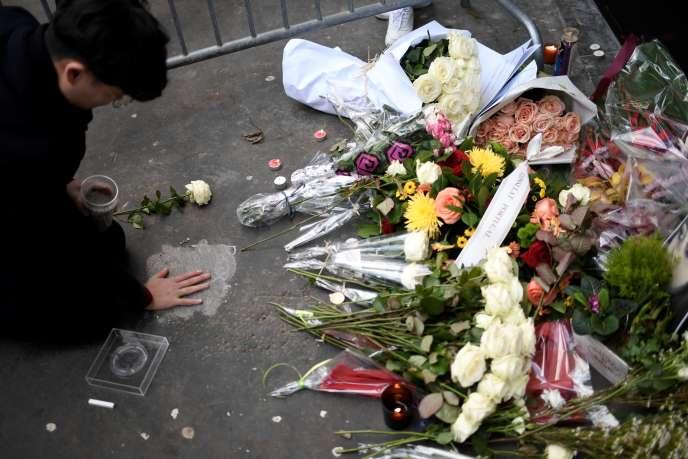 Commémoration des attentats du Bataclan, à Paris, le 13 novembre 2017.