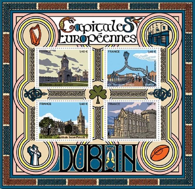 Une création de Christophe Laborde-Balen sur Dublin (Irlande), en vente générale le 16 mars.