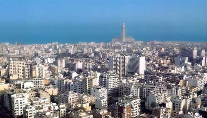 Casablanca, capitale économique du royaume marocain.