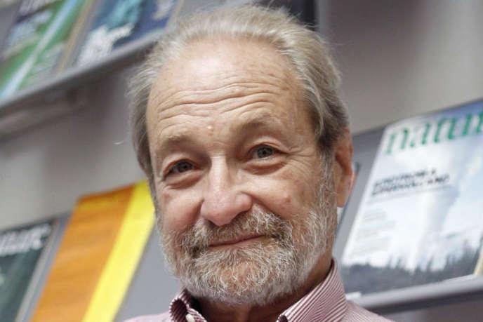 Jacques Mehler dans son laboratoire «Language cognition and development» (Sissa), à Trieste (Italie), en 2013.