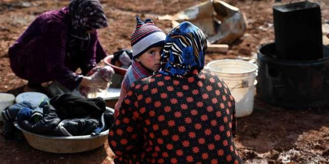 Dans la région d'Idlib, «les gens ne savent plus où trouver refuge et des enfants sont morts de froid»