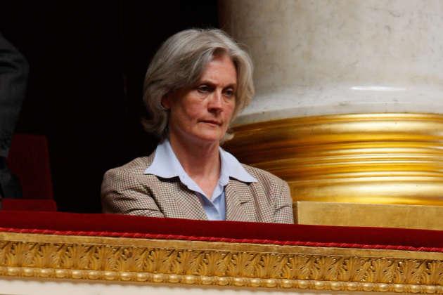 Penelope Fillon, à l'Assemblée nationale, à Paris, le 3 juillet 2007.