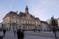 L'hôtel de ville de Tours, le 5 février 2020.