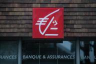 Une agence de la Caisse d'épargne, à Ouistreham (Normandie), en octobre 2019.