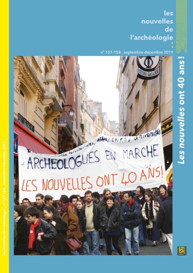 Les Nouvelles de l'archéologie, « Les nouvelles ont 40 ans ! », n° 157-158, septembre-décembre 2019.
