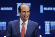 Michael Milken, à Beverly Hills (Californie), le 30 avril 2018.