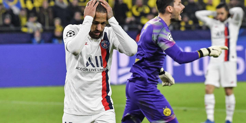 Football : le coup de froid du PSG, battu à Dortmund pour son huitième de finale aller