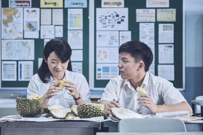 Ling (Yann Yann Yeo) et Wei Lun (Ko Jia Ler) dans« Wet Season» d'Anthony Chen.