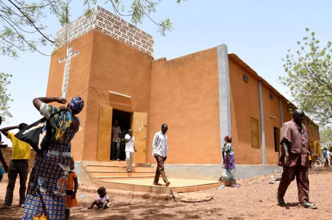 Une église protestante à Kaya, dans le nord du Burkina Faso, en mai 2019.