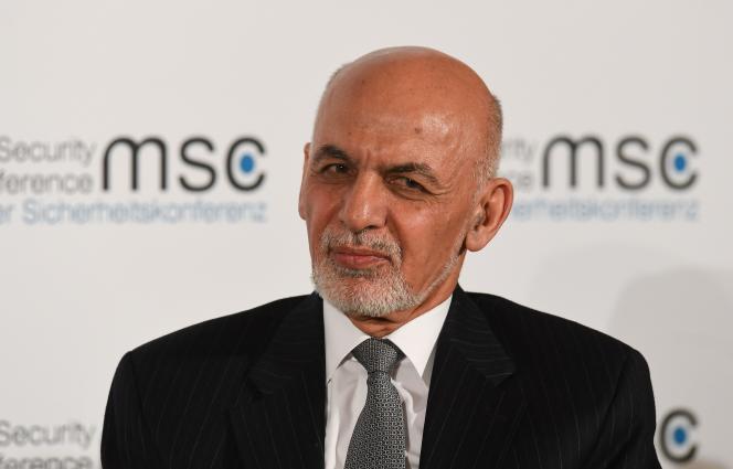 Le président afghan, Ashraf Ghani, lors de la conférence sur la sécurité, à Munich, le 15 février.