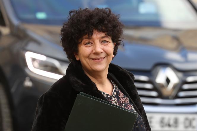 La ministre de l'enseignement supérieur, Frédérique Vidal, en février 2020 à Paris.