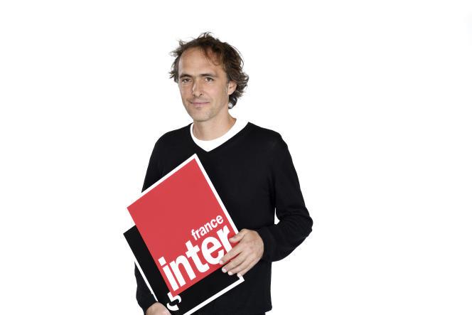 Le journaliste Xavier de La Porte, en 2018.