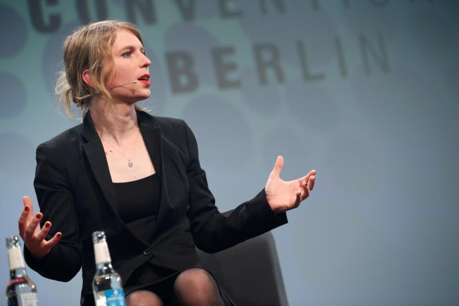 Chelsea Manning, à Berlin, le 2 mai 2018.