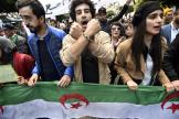Manifestation anti-gouvernementale à Alger, le 31décembre 2019.