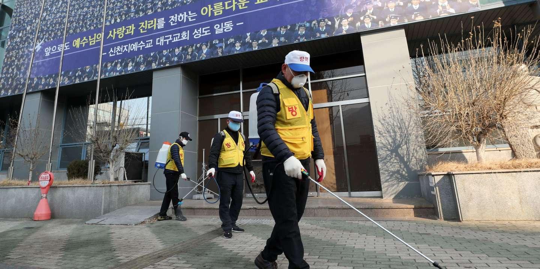 Coronavirus : en Corée du Sud, le nombre de cas bondit à cause d'une secte