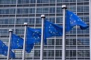 Vue de l'immeuble de la commission européenne à Bruxelles.