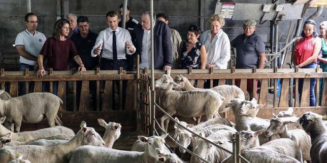 Macron veut protéger les agriculteurs contre les «stigmatisations»
