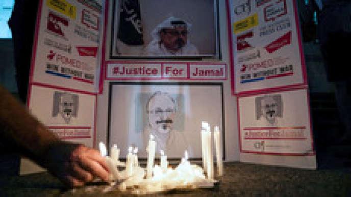 Jamal Khashoggi, journaliste critique du régime saoudien, a été assassiné et son corps dépecé le 2octobre 2018 dans le consulat d'Arabie saoudite à Istanbul (Turquie), où il s'était rendu pour récupérer un document.
