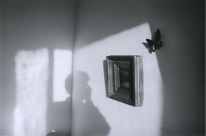 «Autoportrait, tableau carré, Moulin Vert»(1986), Hervé Guibert.