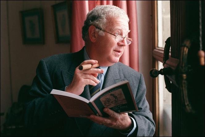 Michel Charasse, au Sénat, à Paris, le 17 décembre 1997.
