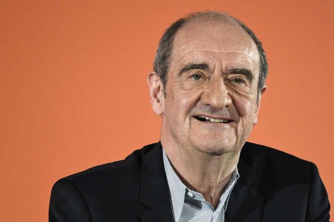 Le président du Festival de Cannes, Pierre Lescure, à Paris, en avril 2019.
