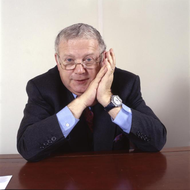 Michel Charasse à Paris, en 1992.