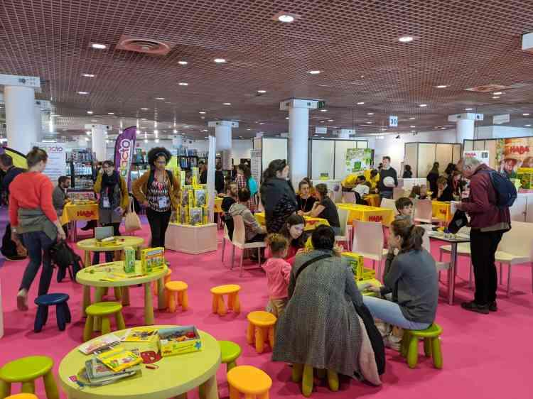 Cent mille visiteurs étaient attendus durant les trois jours du festival, le plus important d'Europe avec le Spiel Essen, enAllemagne.
