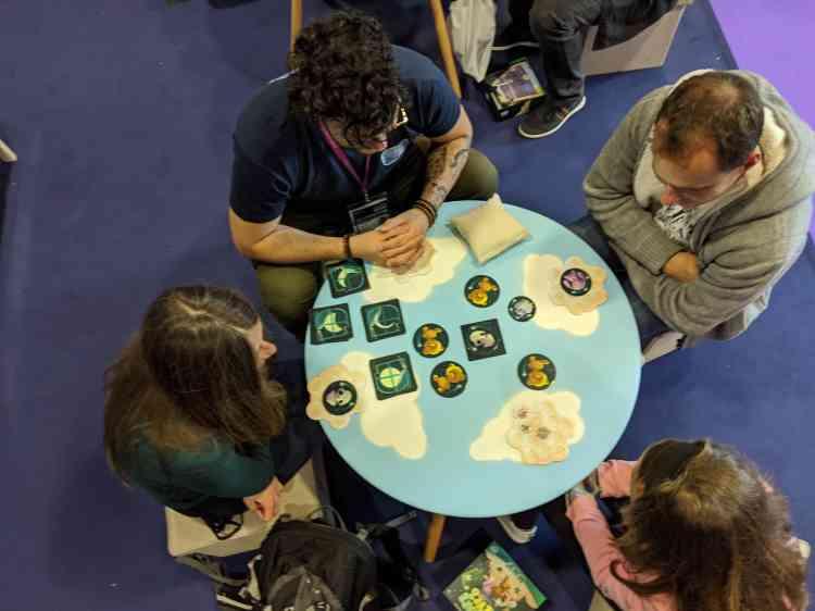 Le prix «enfants» a été remis à «Attrape-rêves», dans lequel les joueurs doivent choisir le bon doudou pour cacher des cauchemars.