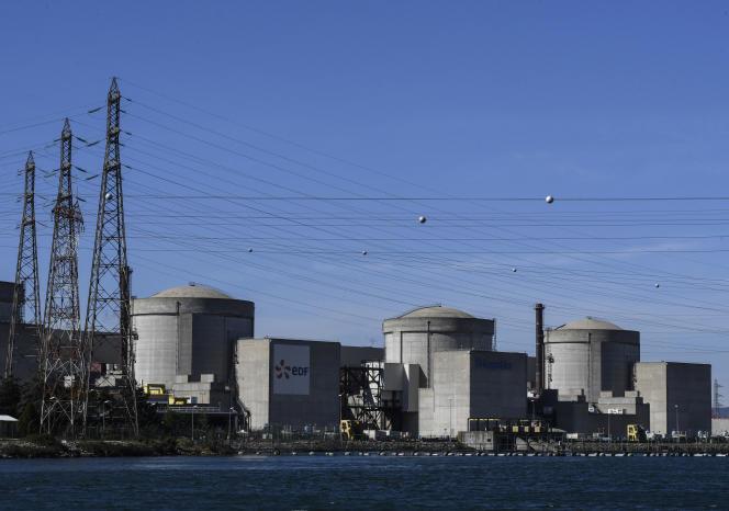 La centrale nucléaire du Tricastin (Drôme).