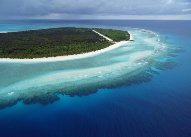 L'île de Grande Glorieuse, en avril 2014.