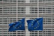 A Bruxelles, lors du sommet entre les Vingt-Sept sur le budget de l'Union européenne, le 21 février 2020.