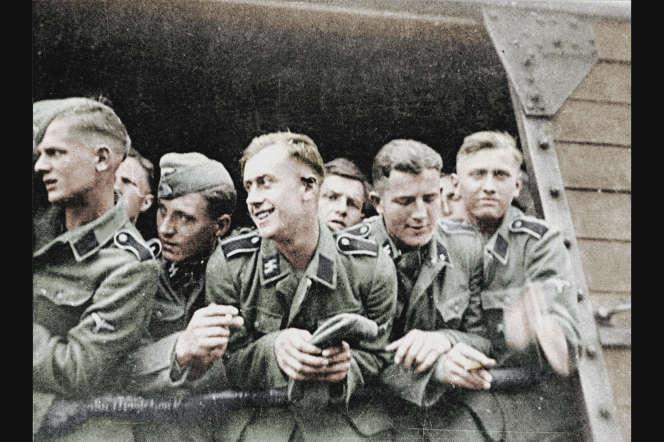 Extrait de «Baby Division, les adolescents soldats d'Hitler», documentaire de Julien Johan.