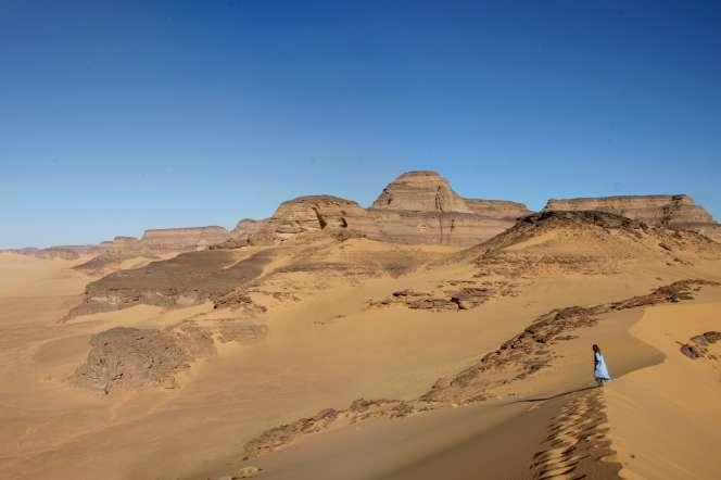 L'abri sous roche de Takarkori, en Libye.