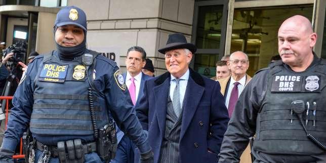 Roger Stone, ancien conseiller de Donald Trump, condamné à trois ans de prison