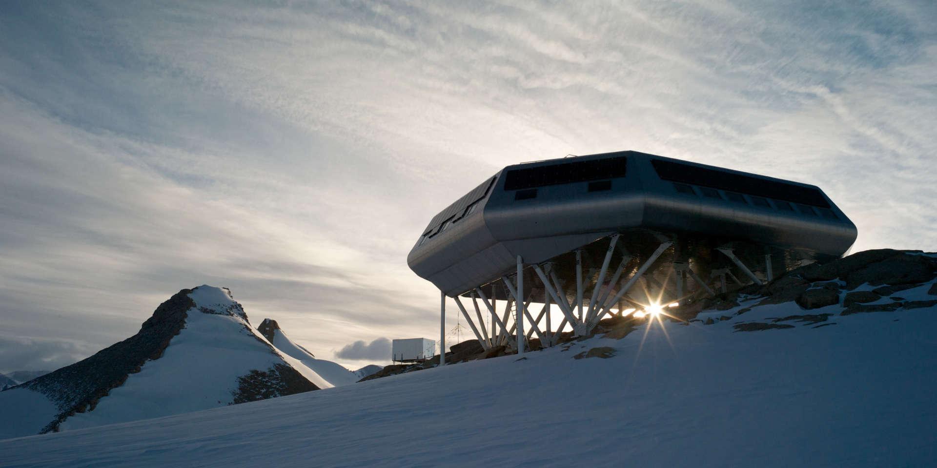 La station Princess-Elisabeth-Antarctica, de la Fondation polaire internationale.
