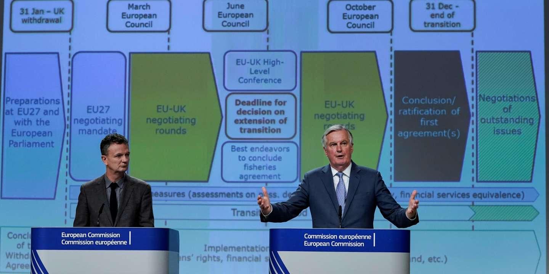 Brexit : Bruxelles et Londres bataillent à coups de PowerPoint