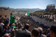 Manifestation à Kherrata en Kabylie (Algérie), le 16 février.