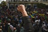 Manifestation à Alger, vendredi 21 février 2020.