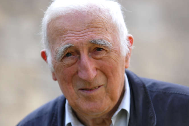 Jean Vanier, à Trosly-Breuil (Oise), le 23 septembre 2014.